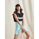 CHIARA VINYL CYCLING SHORTS VERAMAN  | Libelloula women fashion and accessories