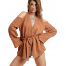 RAMMIE BLAZER BROWN | Libelloula women fashion and accessories