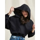 MATEO HOODIE BLACK WITH RED THUNDER | Libelloula women fashion and accessories