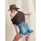 MIAMI DENIM SHORTS | Libelloula Μοντέρνα γυναικεία ρούχα