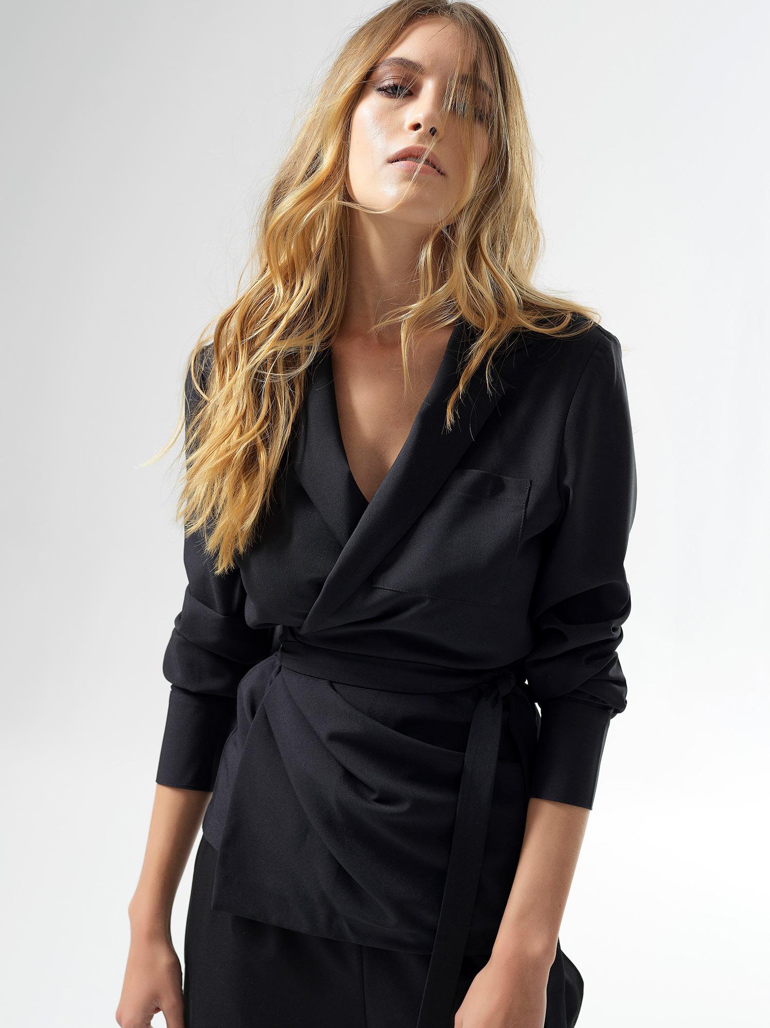 Meuccia Black Jacket Shirt